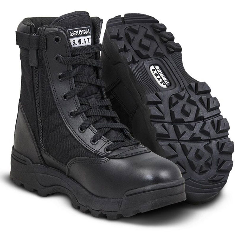 Footwear geared towards safety and emergency works