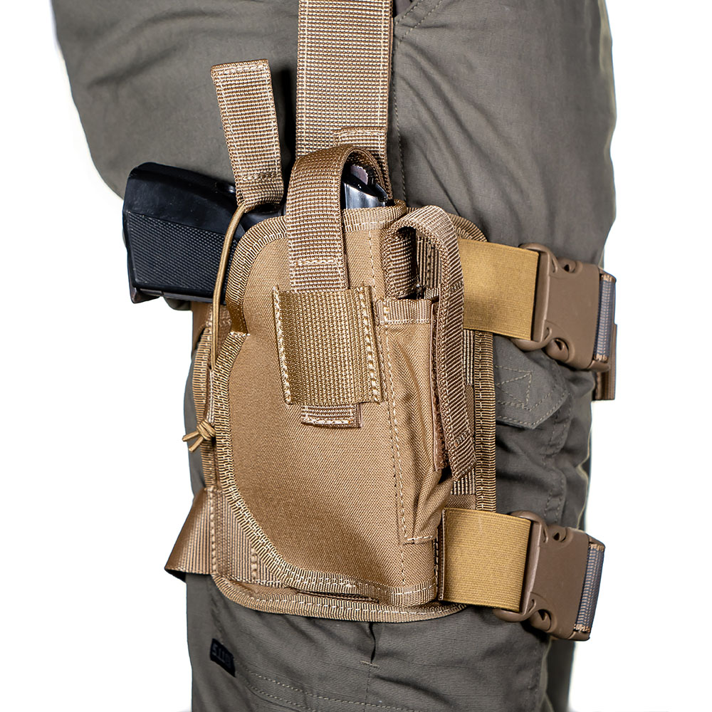 Numerous types of holsters for safety workers